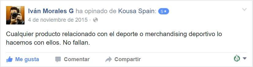 Testimonio Kousa Morales