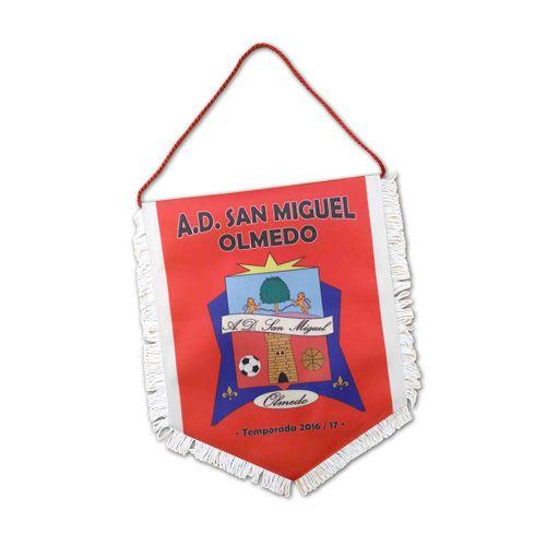 Banderín A.D. San Miguel Olmedo
