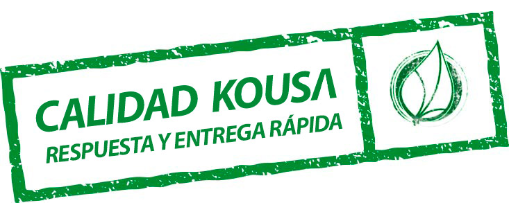Garantía y calidad Kousa