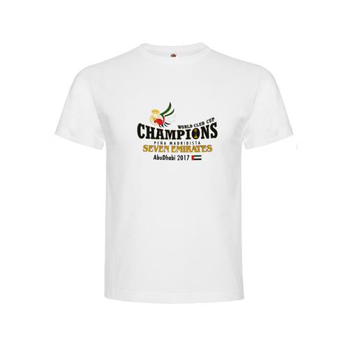 Camiseta Campeones Mundial Clubes