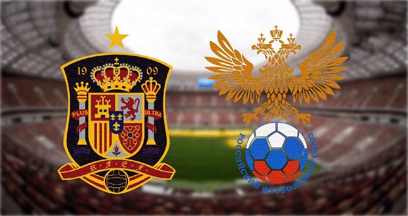 España - Rusia, en octavos del Mundial