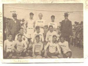 El Riotinto Balompié en 1914.