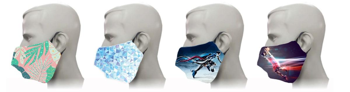Mascarillas personalizadas con diseños exclusivos